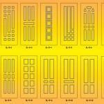 Накладка МДФ на металлические, входные, бронированные двери, установка