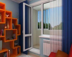 балконный блок металлопластиковый купить Каменское Двери24