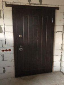Двери входные металлические с накладками мдф Двери24