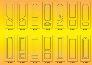 Двери24 накладки мдф 4 Днепродзержинск